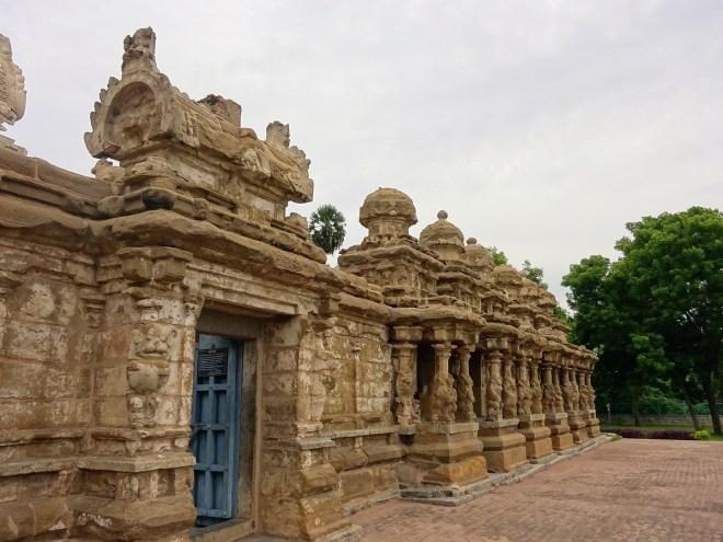 Kailasanathar Temple - facade