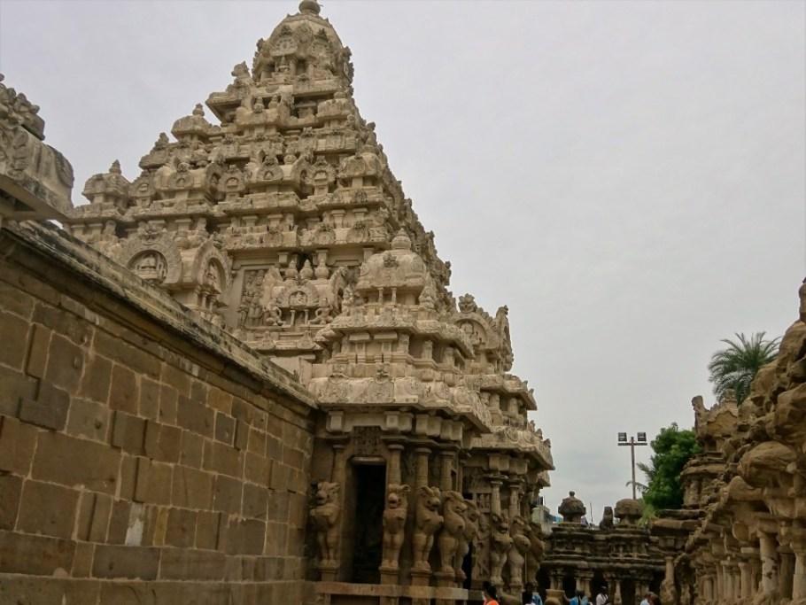 Kailasanathar Temple - details