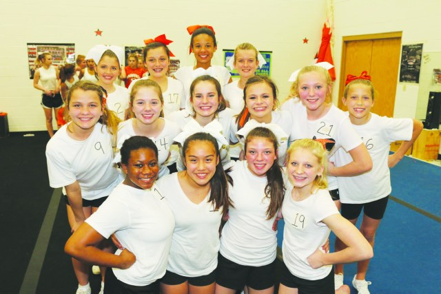 JONATHAN CANADAY | Southwest Arkansas Radio Nashville school cheerleader tryouts took place on Thursday.  Here are the selections.  Nashville Junior High- Kimberly Perez, Macy Bishop, Ashley Chambers, Jasmine Wakefield, Addy Harmon, Zoe Upton, Ebony Jefferson, Braven Warren, Regan Porter, Katie Cochran, Brittan Ray, Macy Goff, Caroline Kesterson, Lindsey Aylett.