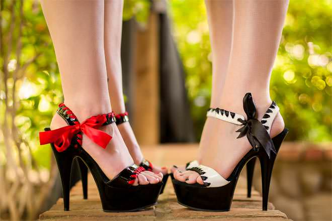 Mini Heels or Towering Stilettos?