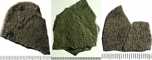 На датском острове нашли странные камни