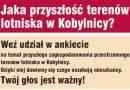 Jaka przyszłość terenów lotniska w Kobylnicy?