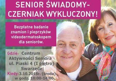 Senior świadomy – czerniak wykluczony!