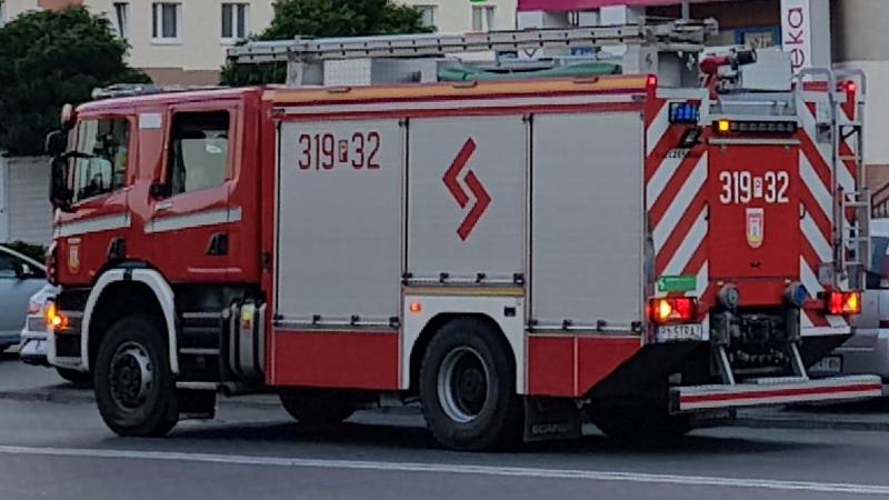 Wezwał pomoc strażaków żart