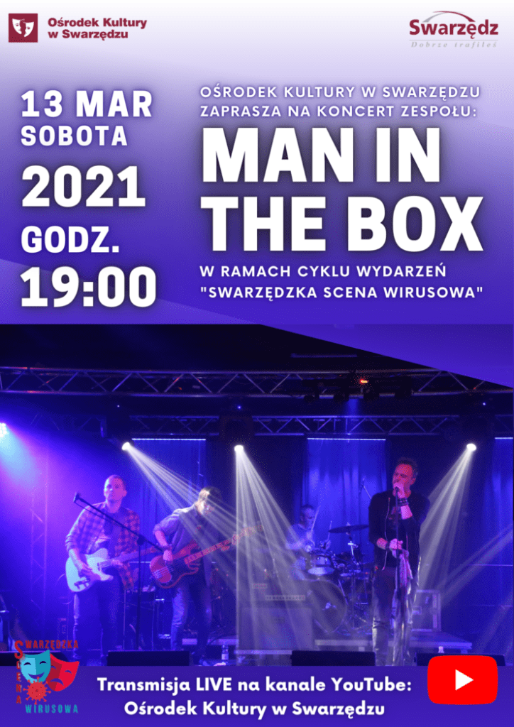 Koncert Man in the BOX