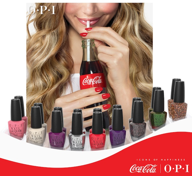 OPI Coca Cola Summer 2014 full collection