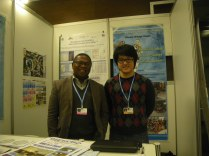 Alex and Alain Rakotovao (a delegate from Madagascar)
