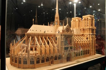 A model of the Notre Dame