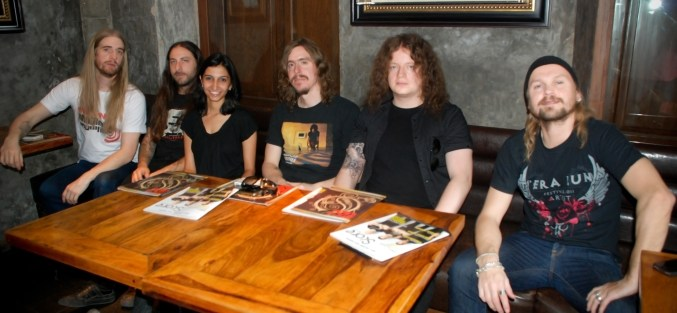 That's me with Opeth. And no, this is not photoshopped.