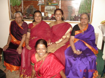 The ladies in paati's family