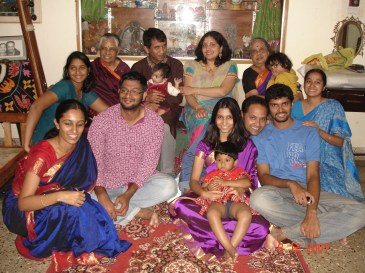 All of paati's kids and great grand kids as of 2007