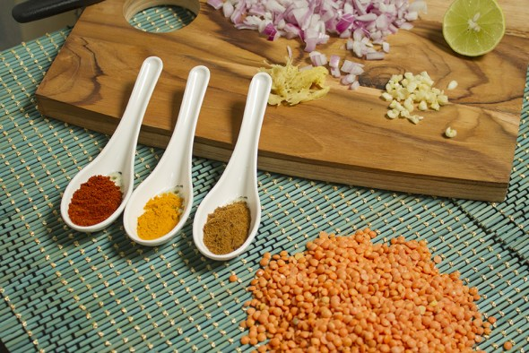 Dal afghani - Ingredients