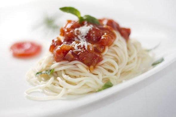 Spaghetti with Arrabbiata Sauce