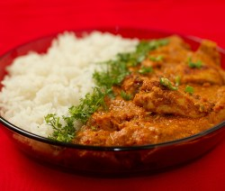 Butter Chicken – Chicken in mild tomato gravy