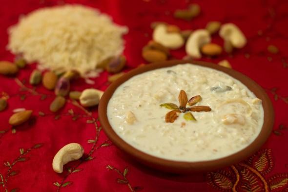 Chawal ki Kheer - Rice Pudding