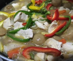 Colourful Chicken Stew