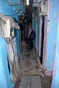 Narrow lanes of Dharavi