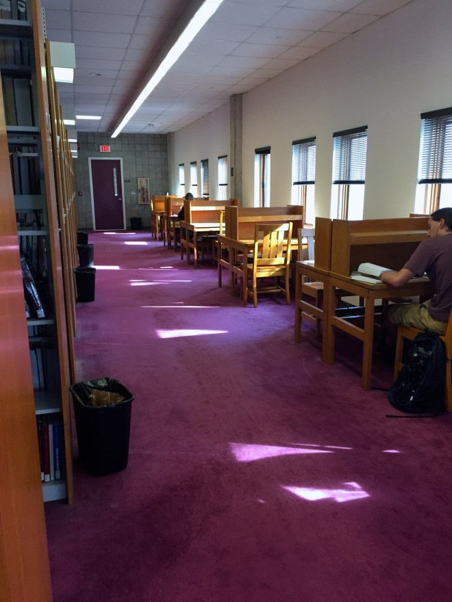 Cornell Second on a not so busy day (normally most the desks are filled)