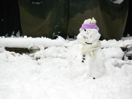 world's best snowman