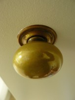 salvaged door handle