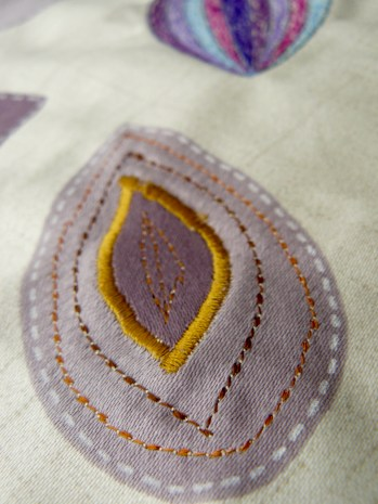 a bit of appliqué