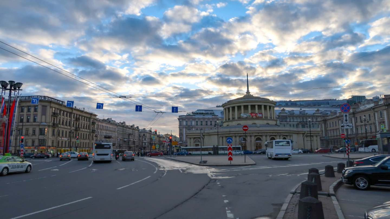 Sway the way petersburg pl. Vosstaniya