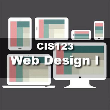 CIS123 Web Design I