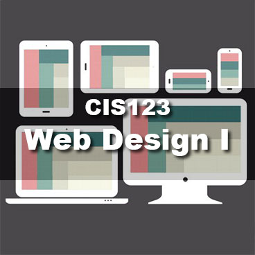 CIS123 Web Design I