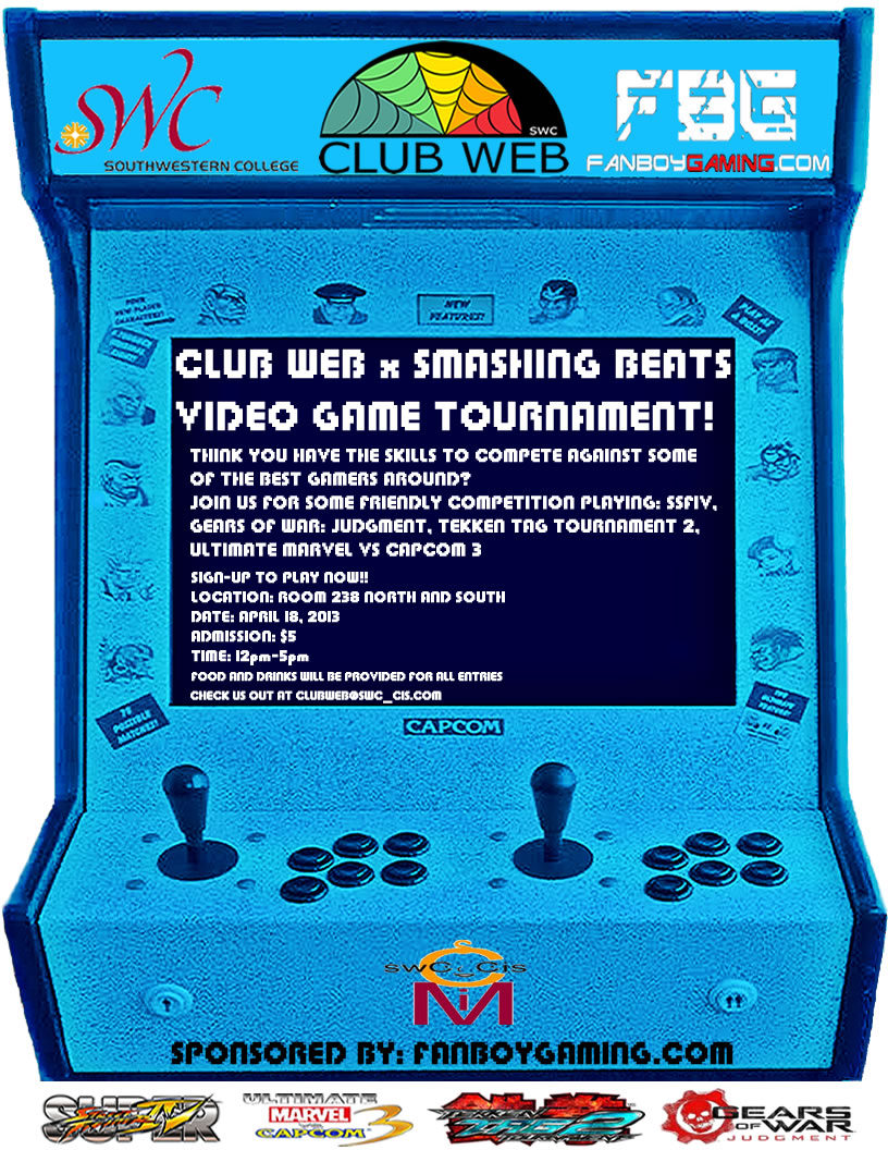 Club Web Video Game Tournament