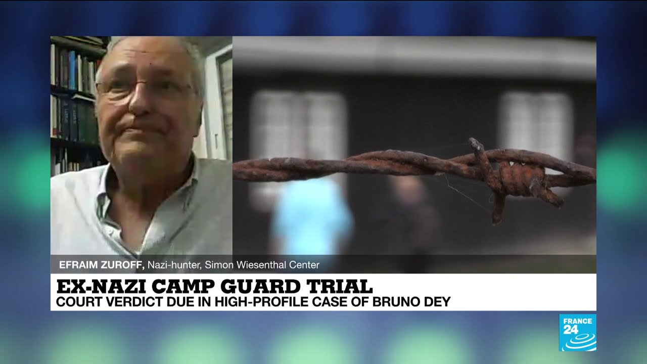 Nazi-hunter says camp guard trial sends powerful message