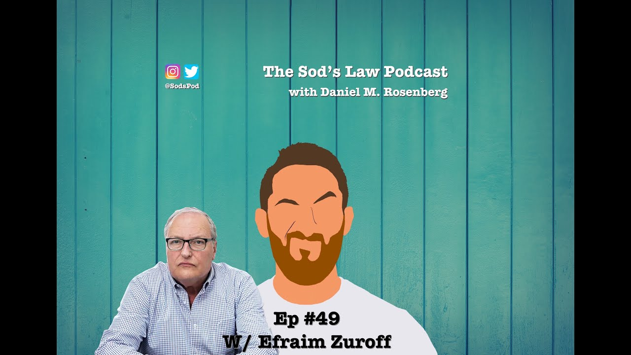 Read more about the article Ep #49 w/ Efraim Zuroff