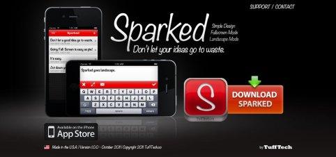 sparked_website