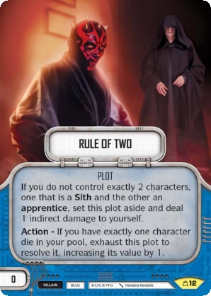 x2 Spectre Cell 104 Uncommon Star Wars Destiny Covert Missions M//NM