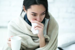Girl with the Flu