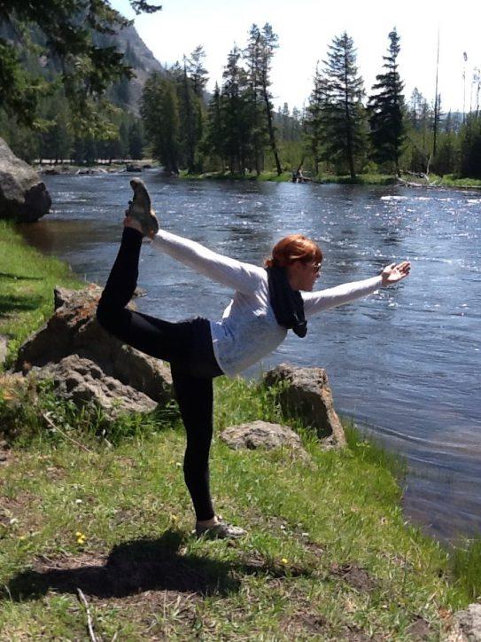 Yoga in Montana.