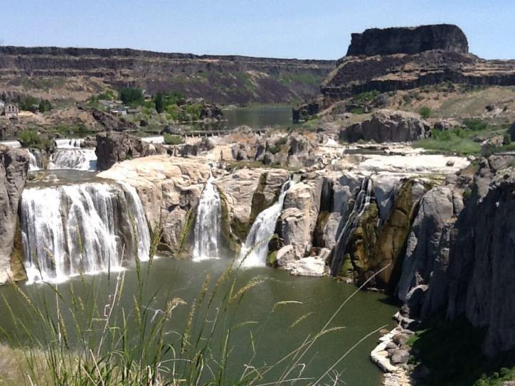 The Shoshone Falls