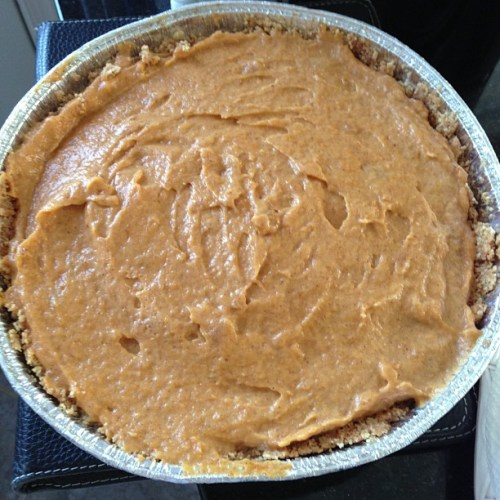 Pumpkin Pie! Yum! Enjoy!
