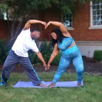 4 Ways Partner Yoga Could Strengthen Your Relationship + 4 Plus Size Poses For You And Bae