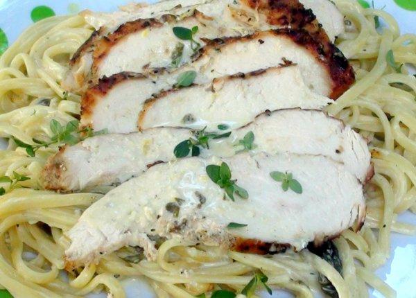 Chicken and pasta 2