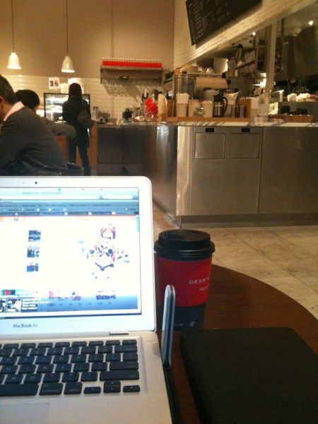 Welcome to my Office. The coffee is great.