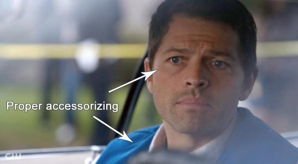 Supernatural Heaven Can't Wait Cas blue eyes