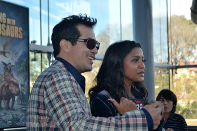 John Leguizamo and Tiya Sircar
