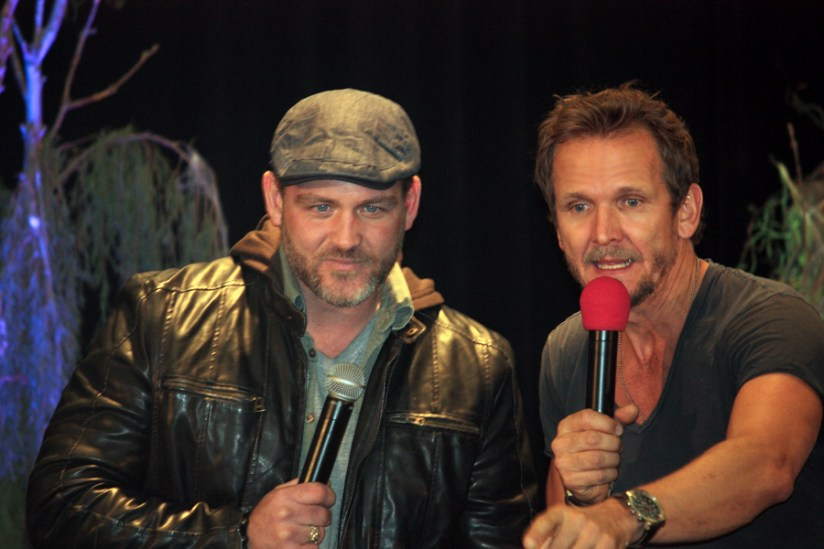 Ty Olsson and Sebastian Roche