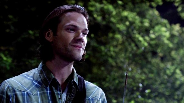 4 Supernatural Season 10 Episode 1 S10E1 Black Sam Winchester Jared Padalecki