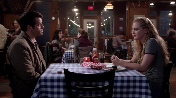 11 Supernatural Season Ten Episode Nine SPN S10E9 The Things We Left Behind Claire Novak Kathryn Love Newton Castiel Jimmy Misha Collins