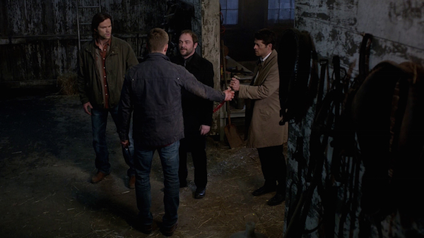 30 Supernatural Season Ten Episode Fourteen SPN S10E14 The Executioners Song Sam Winchester Jared Padalecki Dean Winchester Jensen Ackles Castiel Misha Collins Crowley Mark Sheppard
