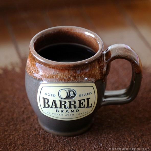 Death Wish Coffee Barrel Brand   Coffee Review