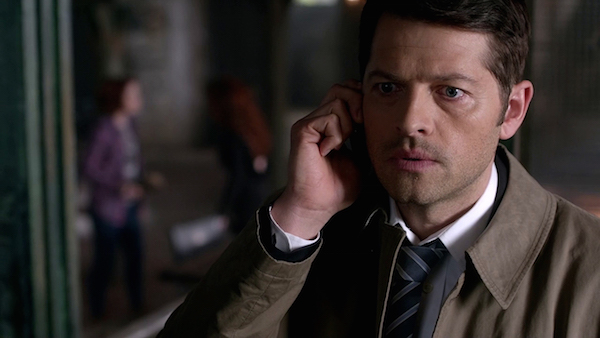 16 Supernatural Season Ten Episode Twenty One SPN S10E21 Dark Dynasty Castiel Misha Collins