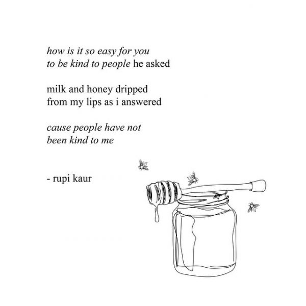 Image result for milk and honey rupi kaur