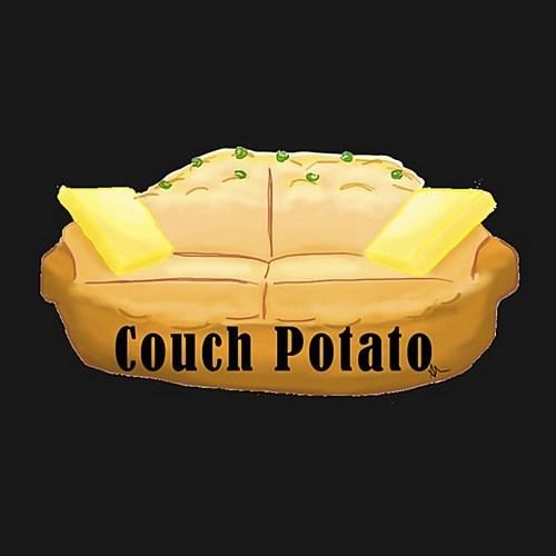 Couch Potato Self Portrait